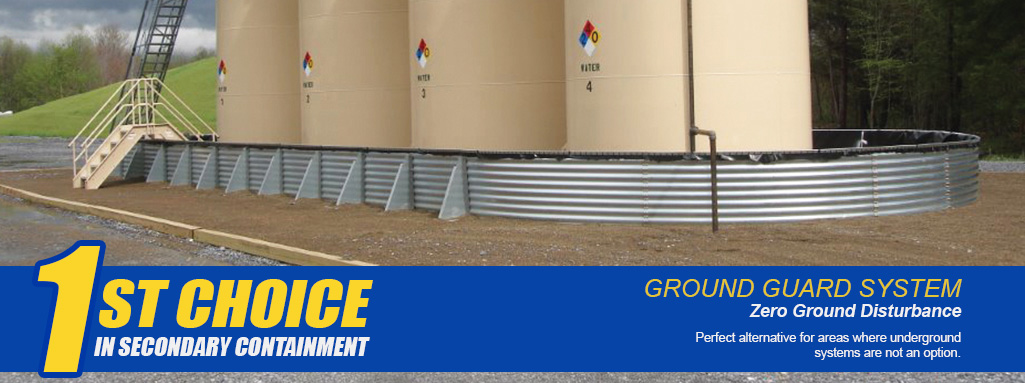 Zero Ground Disturbance Containment System
