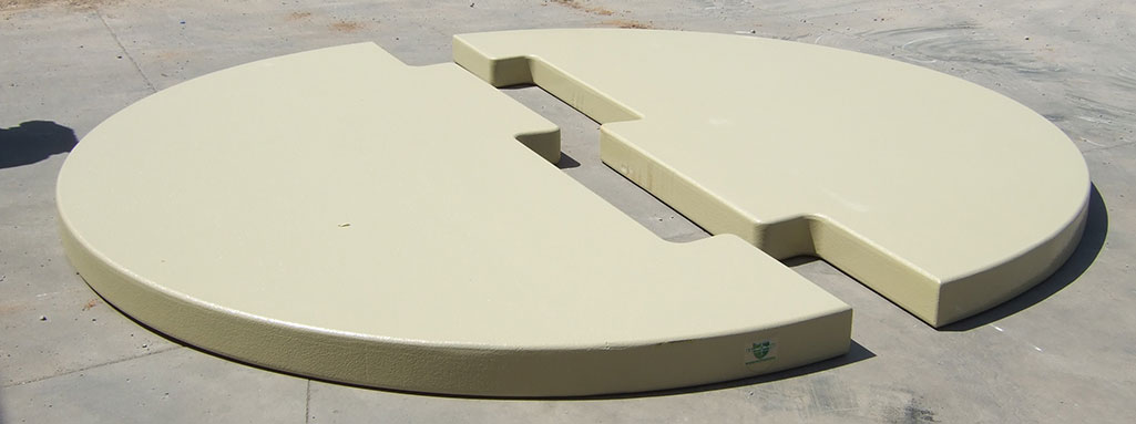 Sioux Secondary Containment Interlocking Tank Bases apart