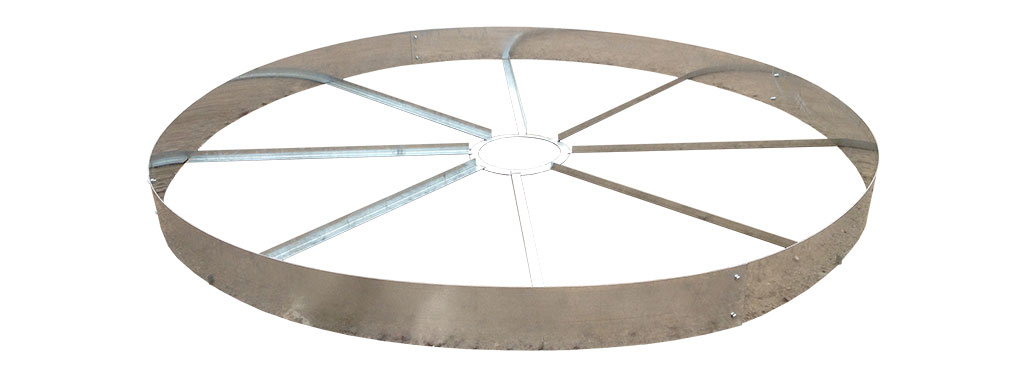 Sioux Secondary Containment Wagon Wheel Tank Rings