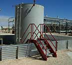 Sioux Secondary Containment Systems Cross Over Steps